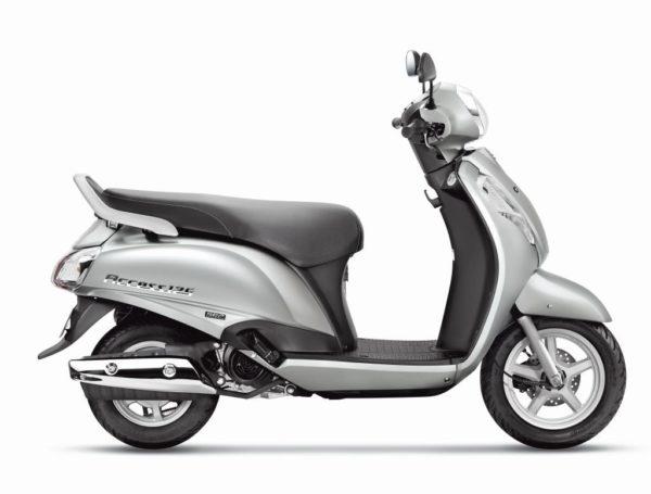 Suzuki Access 125 Metallic Sonic Silver 2 (1)