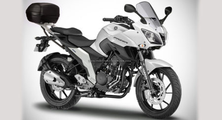 Yamaha Fazer 25 Render - SRK Design - Feature Image