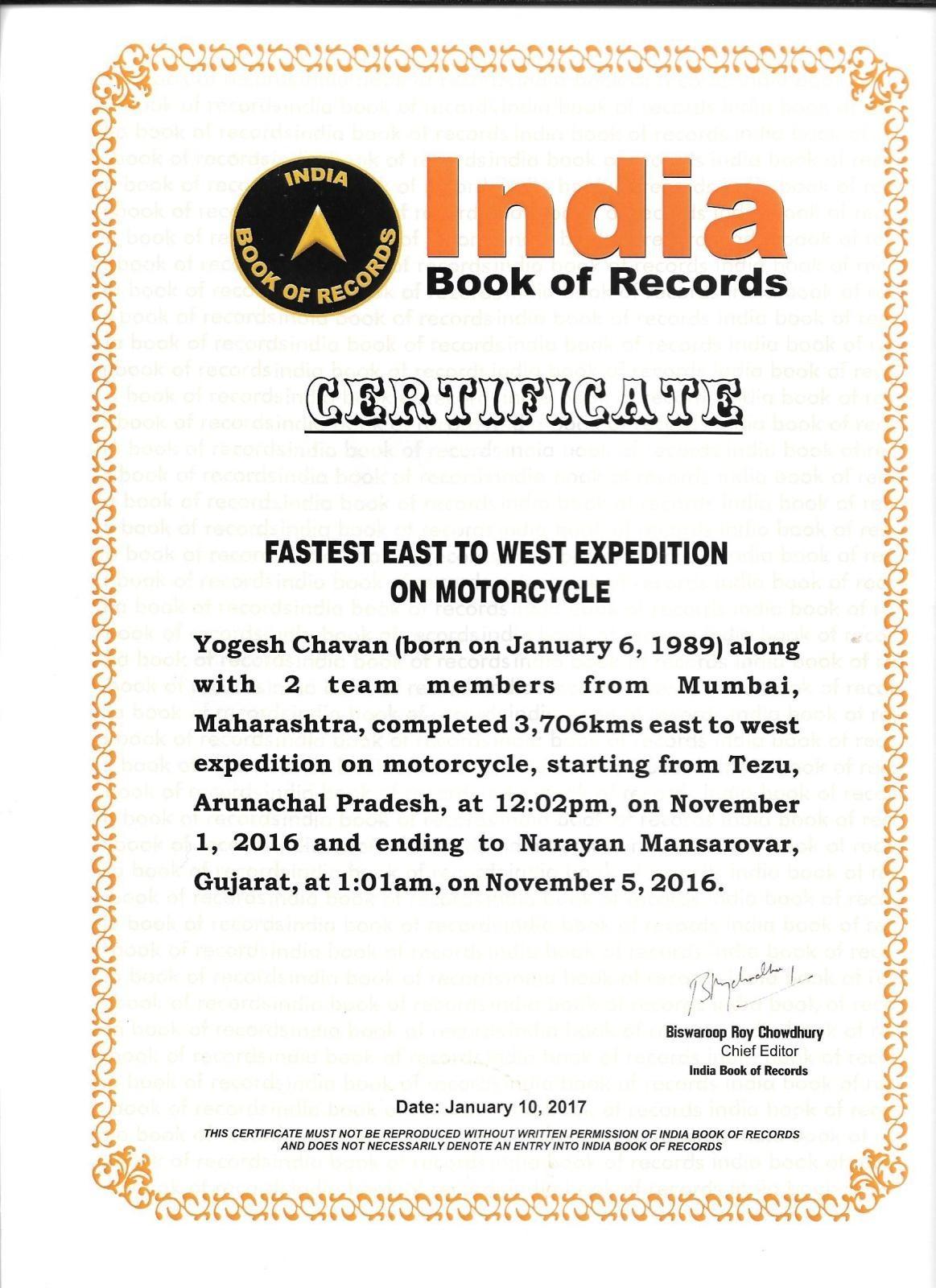 Yogesh-Chavan-Record-East-to-West-Ride-on-Mahindra-MOJO-1