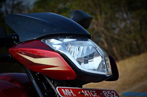 new 2017 Pulsar 135LS headlamp