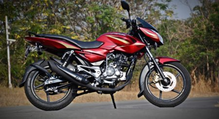 new 2017 Pulsar 135LS side
