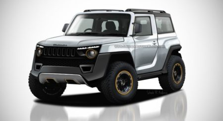 This Digitally Rendered 2020 Mahindra Thar Will Make You Want To Order One Right Away