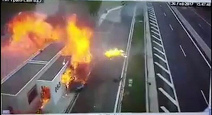 Video : How a Freak Greek Accident Flamed the Road Safety Debate in the Country