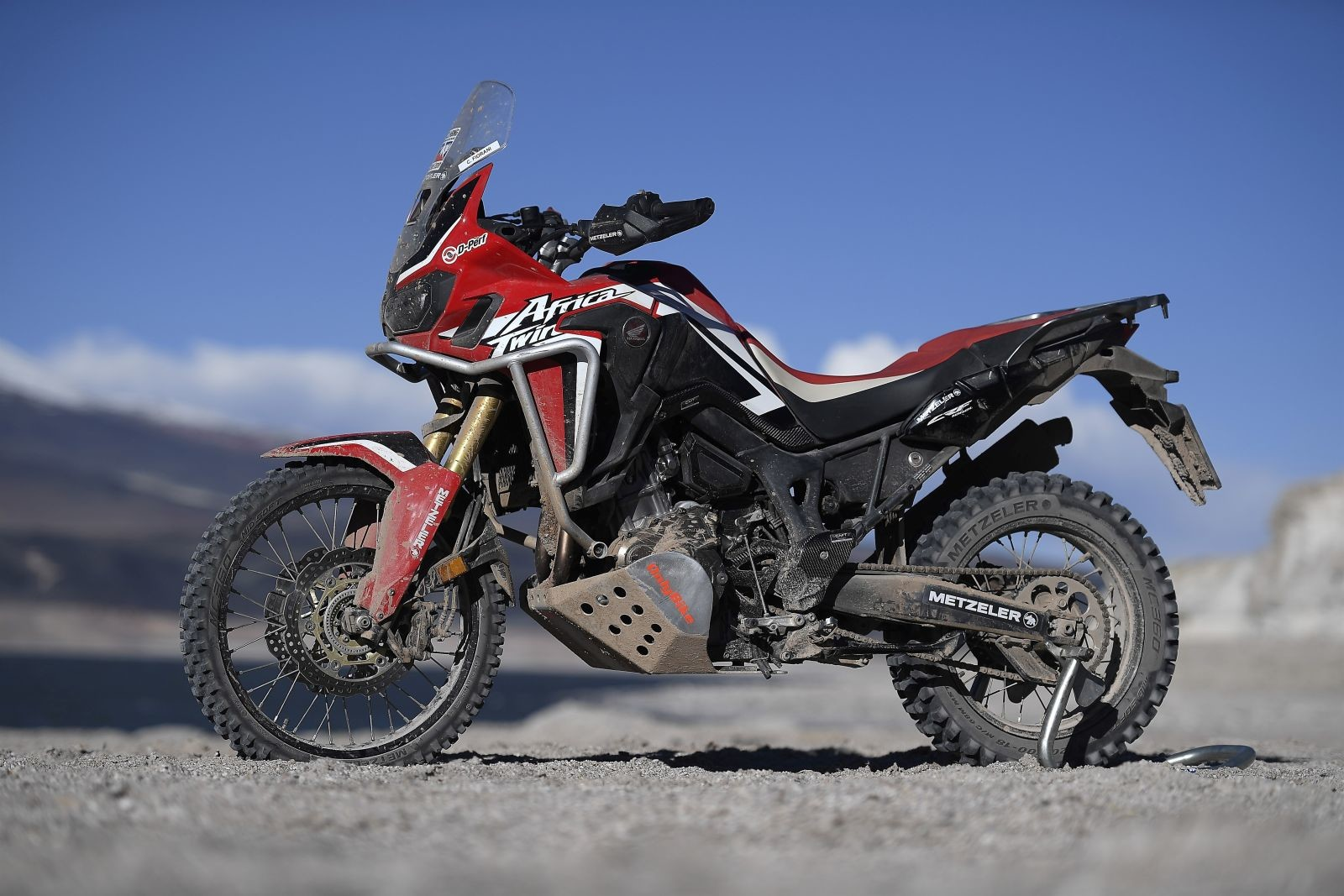 honda africa twin breaks the record for the highest. Black Bedroom Furniture Sets. Home Design Ideas