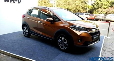 New 2017 Honda WR-V : Detailed Image Gallery, Features List and Technical Specifications