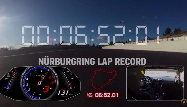Lamborghini-huracan-Performante-nurburgring-record