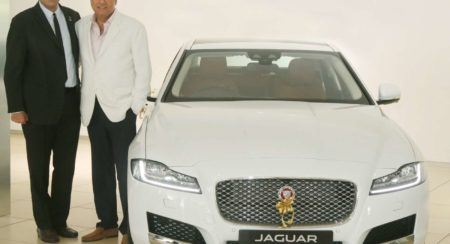 Mr. Rohit Suri - MD and President Jaguar Land Rover India with Actor Bom... (1)