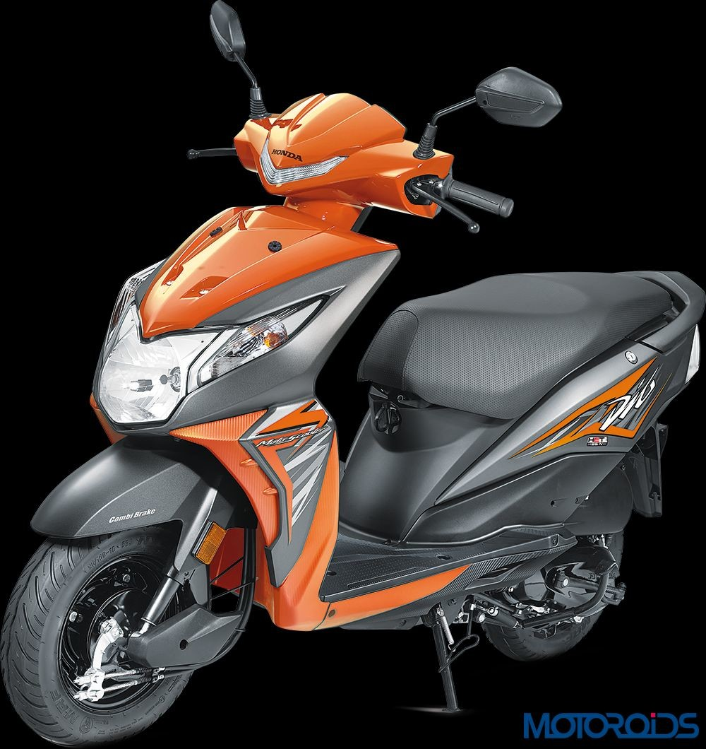 New 2017 Honda Dio Launched At Rs 49 000 Motoroids