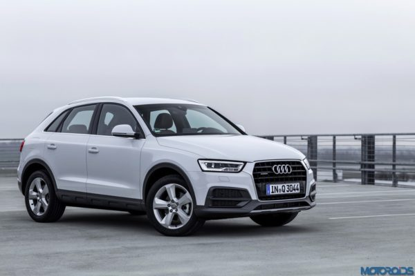 Audi Q3 Front n side view