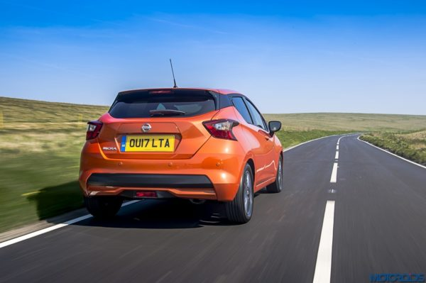 The New Nissan Micra rear