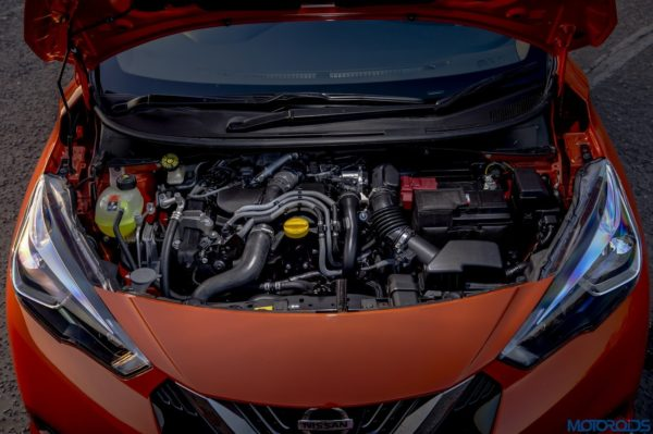 The New Nissan Micra Engine