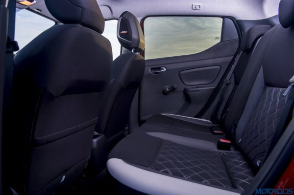 The New Nissan Micra back seats