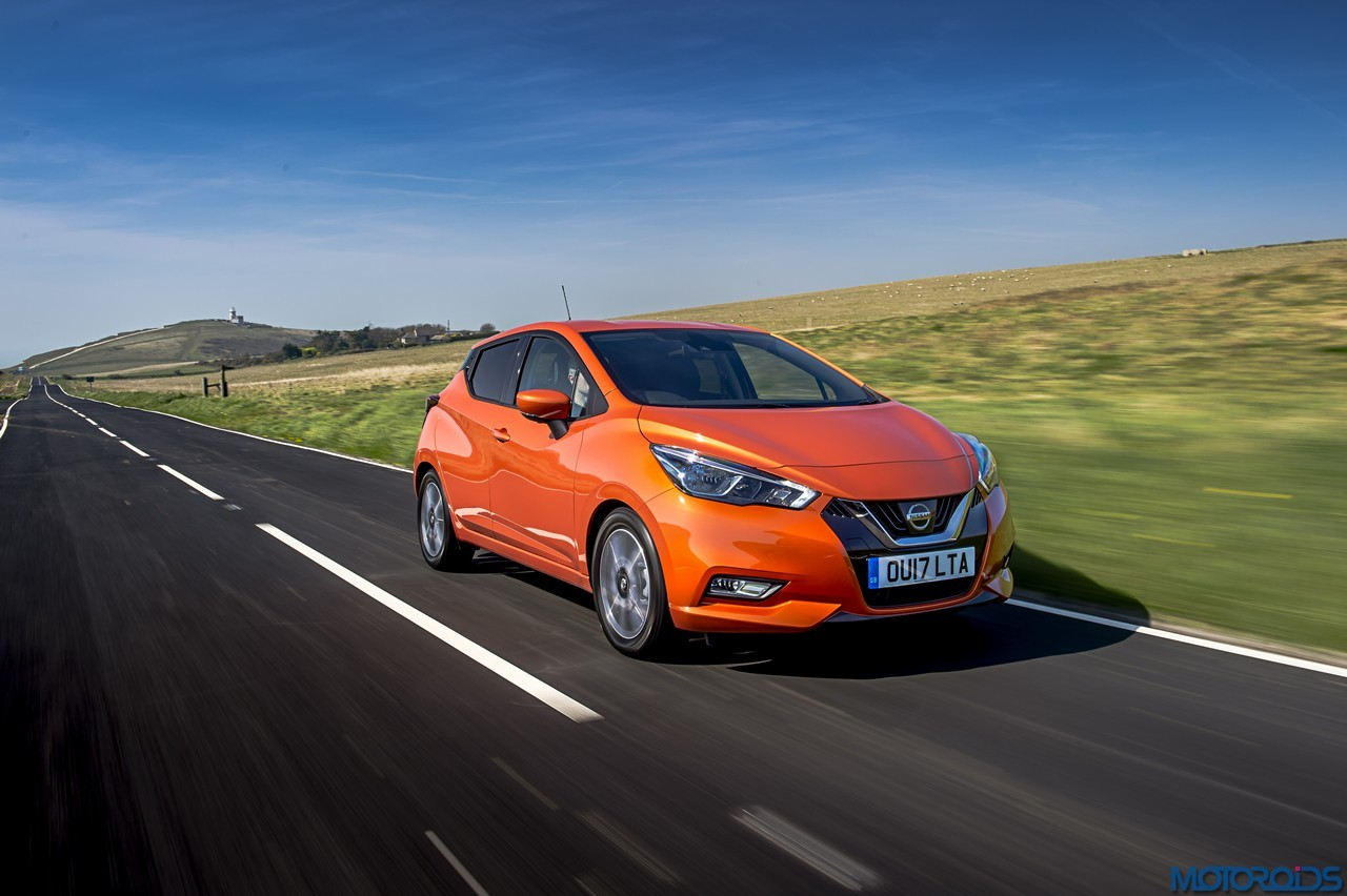 new nissan micra with safety pack gets five star rating from euro ncap. Black Bedroom Furniture Sets. Home Design Ideas