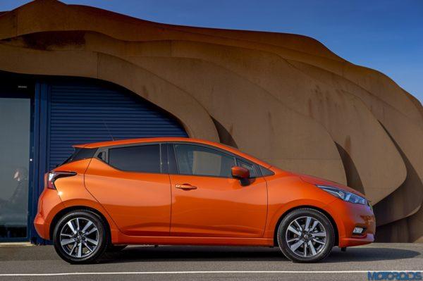 The New Nissan Micra doors