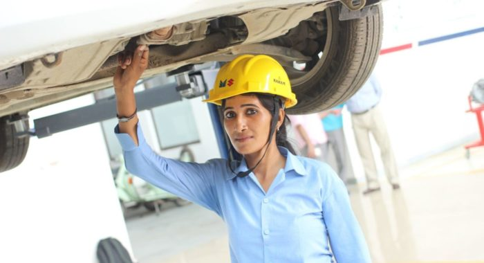 Meet Poonam Singh, India's First ITI Certified Lady Car Mechanic and a President's Medal Winner