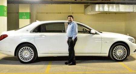 Ramesh Babu Mercedes-Maybach S600