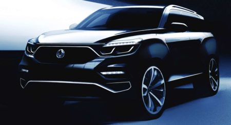 SsangYong Y400 teaser - 1