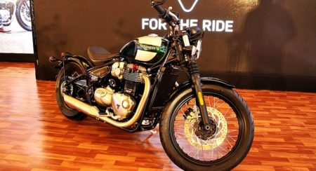 Triumph Bonneville Bobber - India Launch (59)
