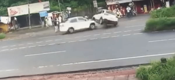 accidents in India at_intersections