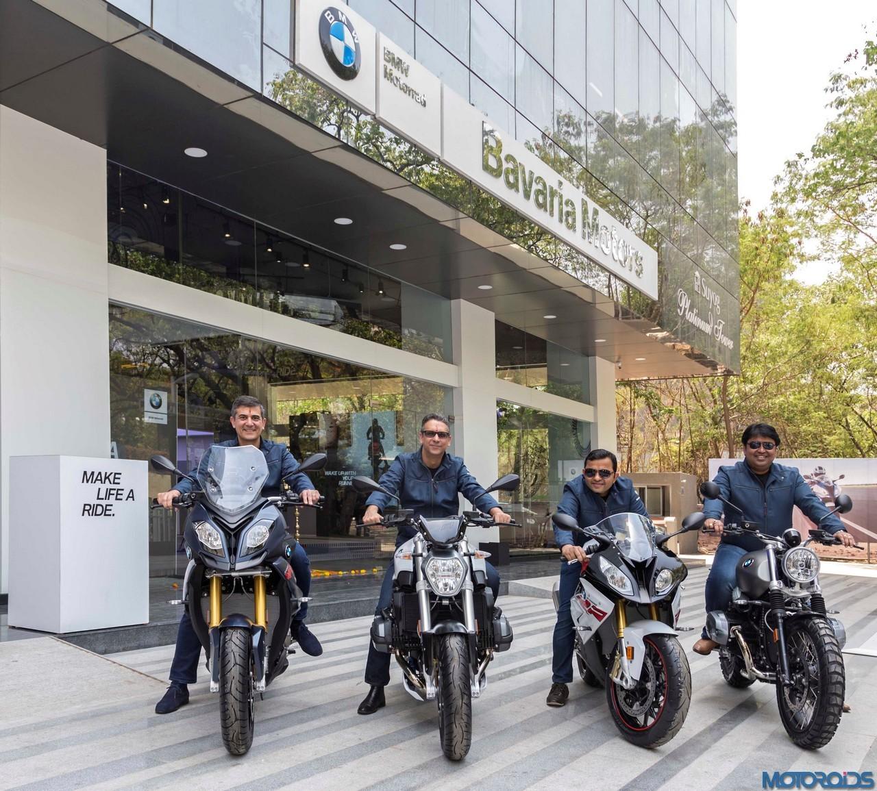 Bavaria Motors Debuts As BMW Motorrad's Largest India