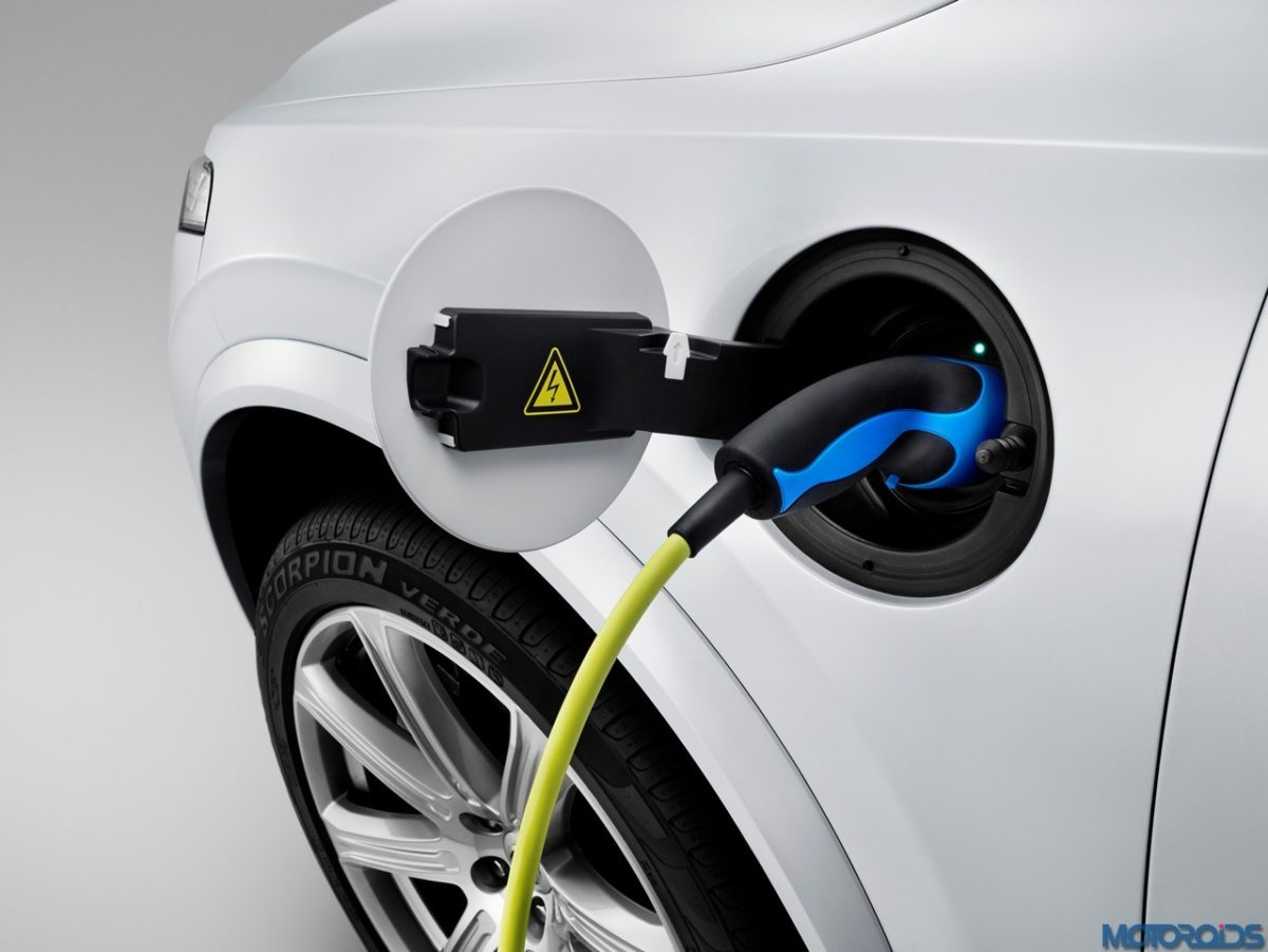 The all new Volvo XC90 – Charging