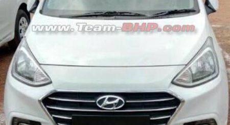 2017 Hyundai Xcent Facelift front (1)