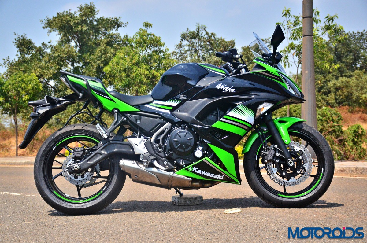 all new 2017 kawasaki ninja 650 first ride review motoroids. Black Bedroom Furniture Sets. Home Design Ideas
