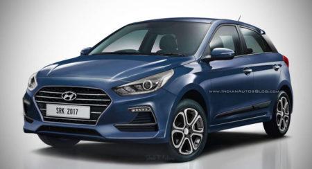 2018 Hyundai Elite i20 (Hyundai i20 Facelift) Gets Rendered