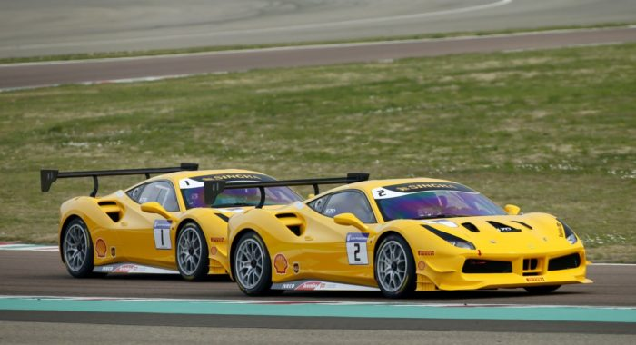 new season of ferrari challenge asia pacific to kickoff from the yas marina circuit on april 6. Black Bedroom Furniture Sets. Home Design Ideas