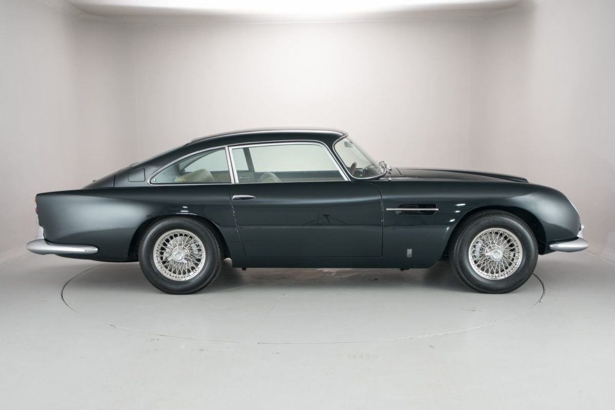 Iconic Aston Martin DB5, Once Owned By Prince Aga Khan Is