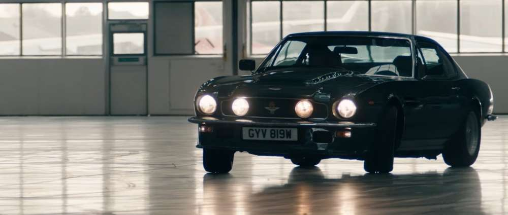 Aston Martin Sports Cars Appear In Film For The First Time