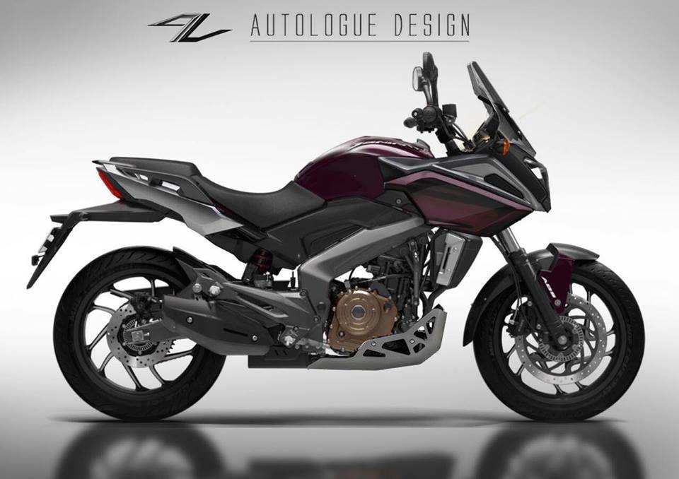 Preview Bajaj Dominar Tourex By Autologue Design Motoroids