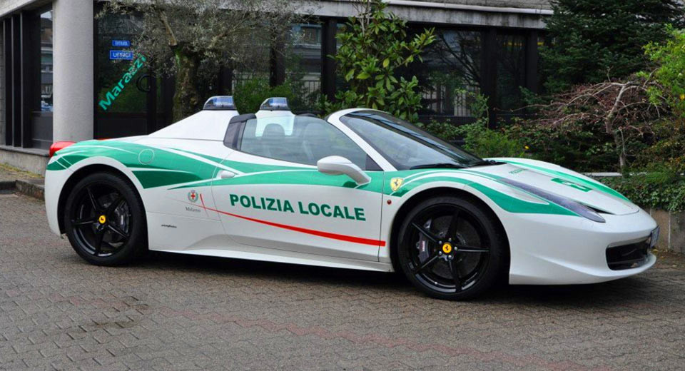 LIST: Best Police Cars From Around The World | Motoroids  Fastest Police Car In The World 2013