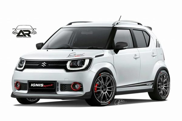 We Hope This Digitally Rendered Suzuki Ignis Sport Turns