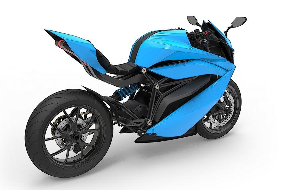Made in Bangalore, 200 kph Emflux One Electric Sports Bike ...