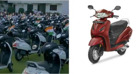 Surat: Businessman Gifts 125 Activa Scooters To Employees For Good Performance