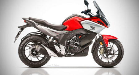 Honda CB Hornet 160F (Hornet With Half Fairing) Rendered