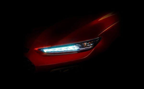 Hyundai - Kona - Teaser - headlight