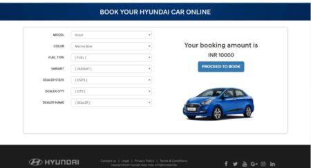 Hyundai Online Car Booking (1)