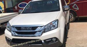 India-spec Isuzu MU-X