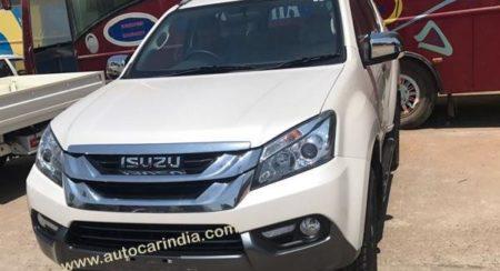 India-spec Isuzu MU-X (2)