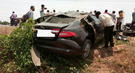 Jaguar XF Crash Buffalo Shimoga (3)