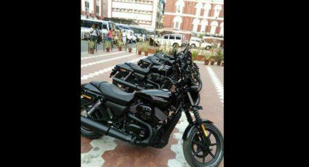 Kolkata-Police-Harley-Davidson-750