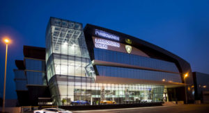 Lamborghini Showroom Dubai