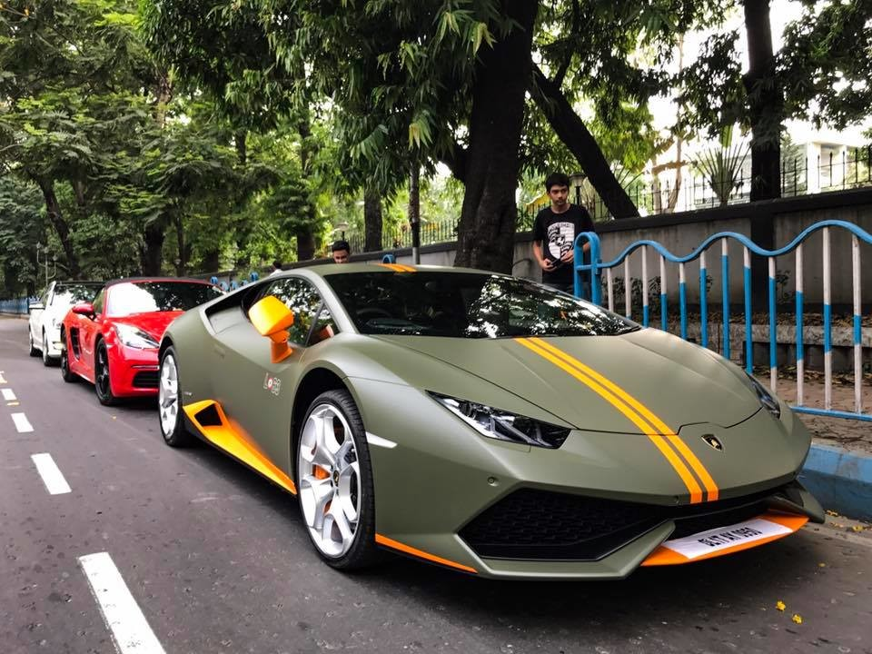 a lamborghini huracan avio 1 of 250 ever made lands in kolkata motoroids. Black Bedroom Furniture Sets. Home Design Ideas