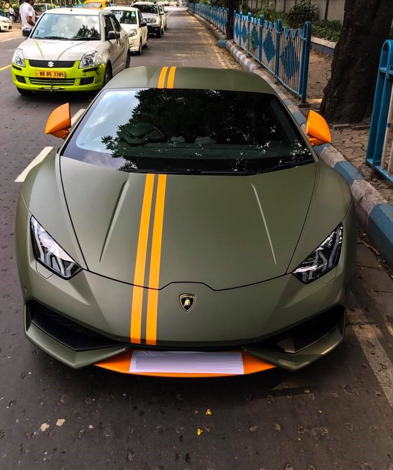 A Lamborghini Huracan Avio 1 Of 250 Ever Made Lands In Kolkata