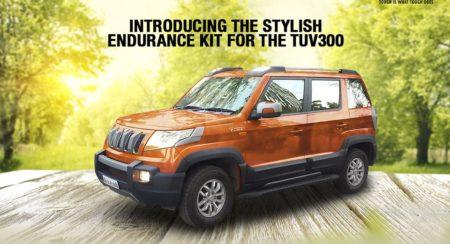 Mahindra TUV300 Endurance edition official
