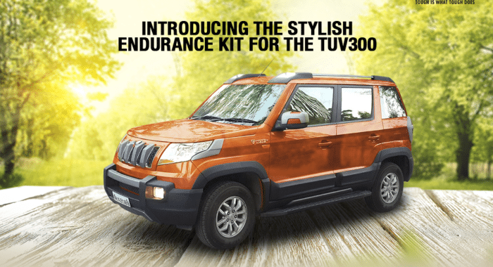 Mahindra TUV300 Endurance Kit Launched In India, Priced At INR 61,000