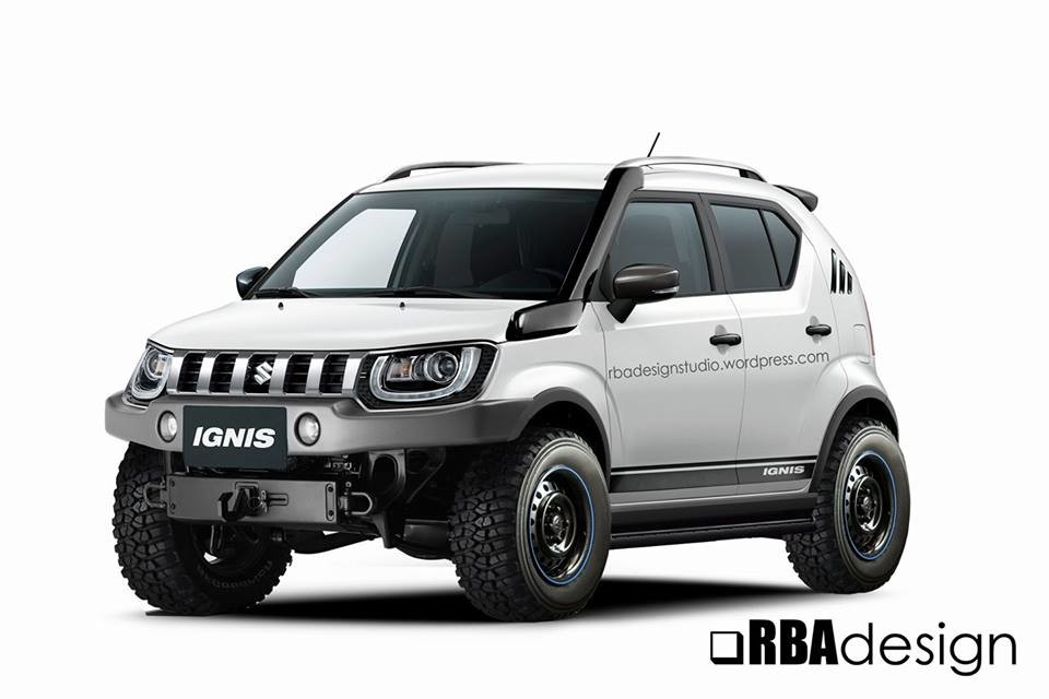 if the maruti suzuki ignis rolled in the gypsy s tyre. Black Bedroom Furniture Sets. Home Design Ideas
