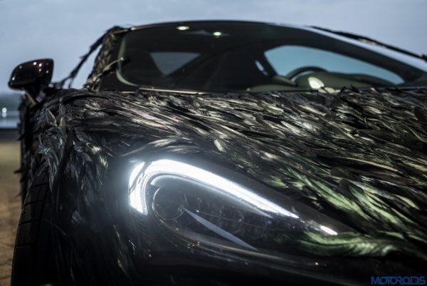 McLaren Feather Wrap - headlight